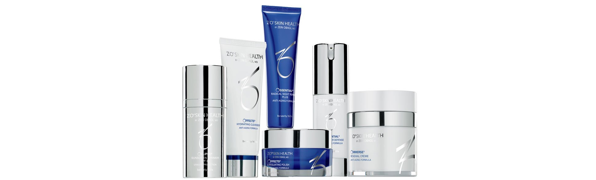 ZO Skin Health Range available at Clinetix Rejuvenation