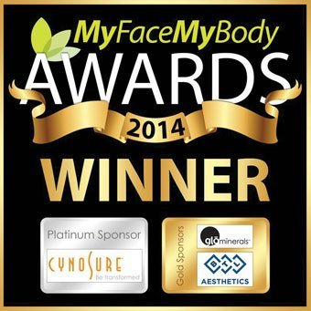 Winner Best Aesthetic Clinic UK at the My Face My Body Awards 2014 Clinetix Rejuvenation