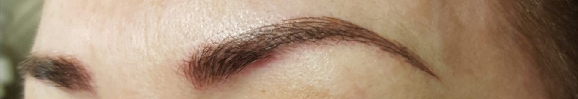 Semi-Permanent Microblading Eyebrows at Clinetix - After