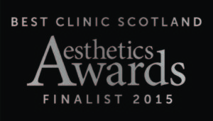 Clinetix Rejuvenation Finalists for Best Clinic Scotland at the Aesthetic Awards 2015