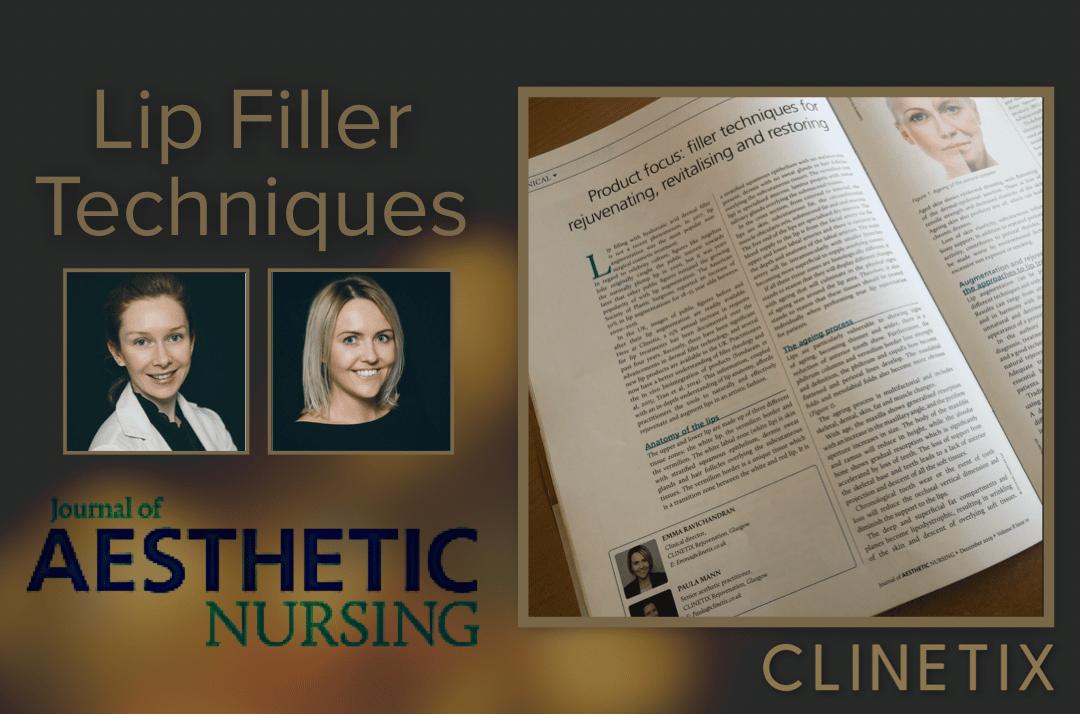 Lip Filler Techniques –                   Journal of Aesthetic Nursing