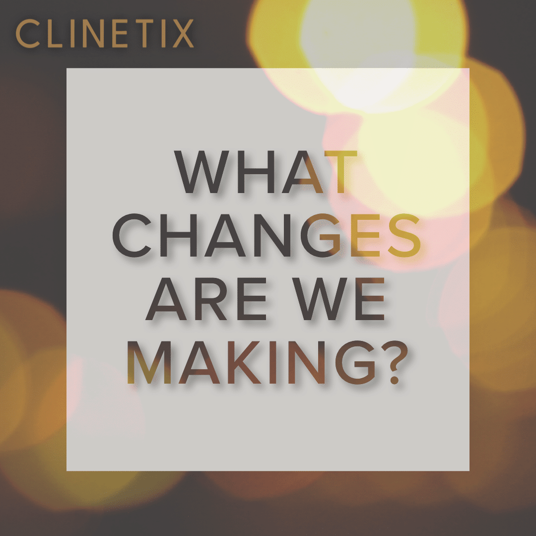 What changes are we making?
